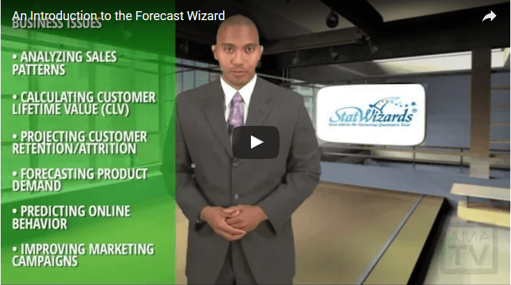 An Introduction to the Forecast Wizard