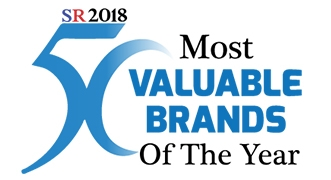 50 Most Valuable Brands of the Year - 2018